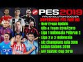 Download Video Download Fts Mod Pes 2019 New update Kits & Player 2018/2019 | Liga Indonesia,Asian Games, Afc cup