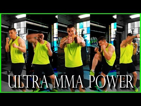 Ultra MMA HIIT Kickboxing Workout (Get Your Punch On!)