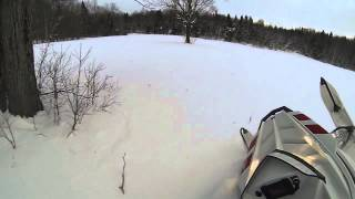 8. Playing the snow with the new Polaris Switchback Pro-R 800 2013