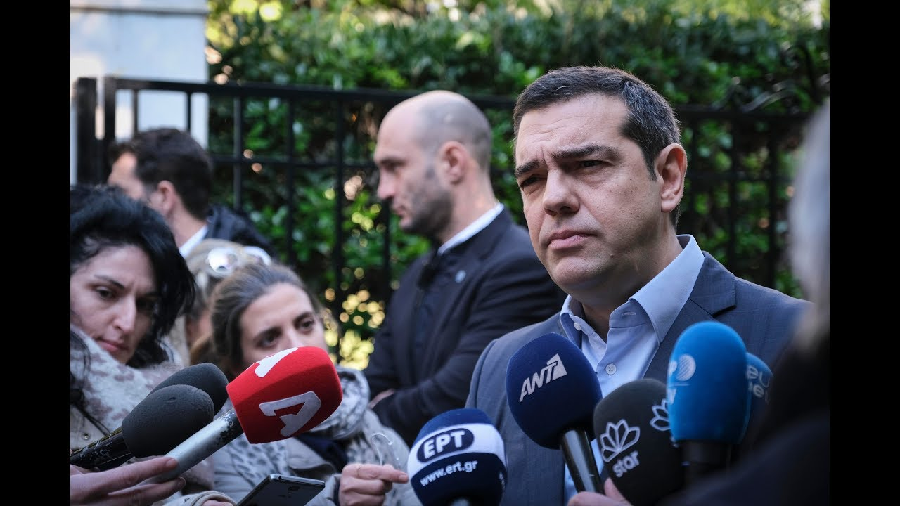 Δηλώσεις μετά τη συνάντηση με τον Πρόεδρο των Ανεξαρτήτων Ελλήνων, Πάνο Καμμένο στο Μέγαρο Μαξίμου