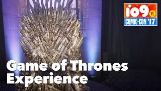 The Game of Thrones Experience at San Diego Comic-Con 2017 takes fans on a journey through the Seven Kingdoms, including Winterfell, Dragonstone, ...