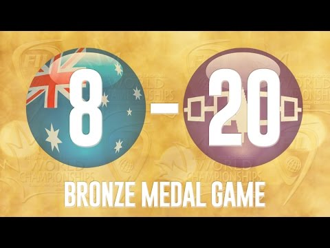 2016 FIL U19 Men's Lacrosse Championship - Bronze Medal Game - Australia vs Iroquois Nationals
