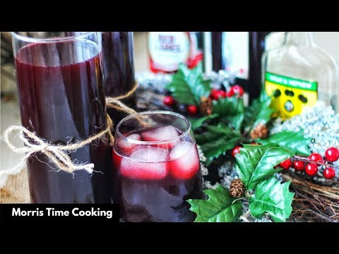 How To Make Jamaican Sorrel Drink | Lesson #82 | Morris Time Cooking