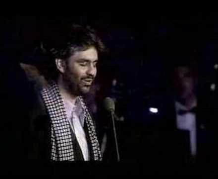 Andrea Bocelli - Con te partiro lyrics