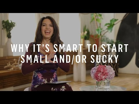 Watch 'Progress: Why It's Smart To Start Small and/or Sucky [video]'