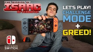 In today's video I we play The Binding of Isaac: Afterbirth+ for the Nintendo Switch. Not only do you get to watch met get completely annihilated by hordes o...