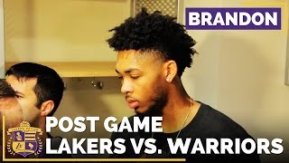 Brandon Ingram On Warriors: 'Kind Of A Model For The Way We Want To Play Someday' by Lakers Nation