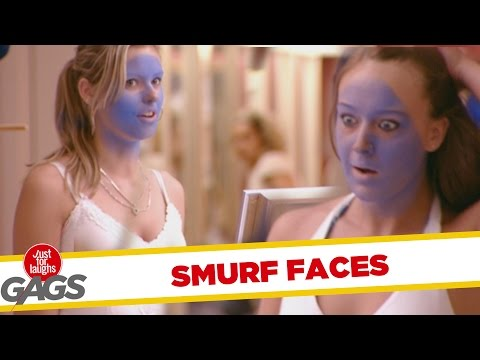 Troll Hài Hước 2015 - Smurf Tan Prank - Throwback Thursday