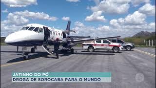 Polícia civil de Sorocaba desmantela quadrilha que utilizava aviões para o tráfico de drogas