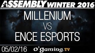 Millenium vs ENCE Esports - Assembly Winter 2016 - Group Stage