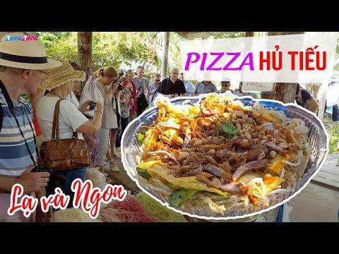 DU LỊCH CẦN THƠ ▶ Pizza Hủ Tiếu đặc sản miền Tây bạn phải thử! - Thời lượng: 10 phút.