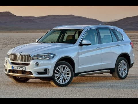 2015 BMW X5 Start Up and Review 3.0 L 6-Cylinder Turbo Diesel