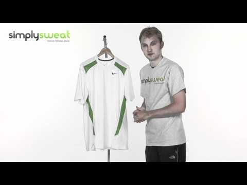 Nike Mens Speed Fury Short Sleeved Training Top White- www.simplysweat.com