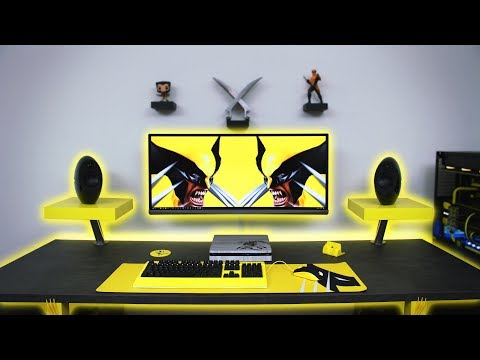 $7500 Ultimate Wolverine Desk Setup | Time Lapse