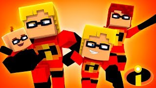 Video THE INCREDIBLES 2: THE MOVIE! (Little Carly Minecraft). MP3, 3GP, MP4, WEBM, AVI, FLV Juli 2018