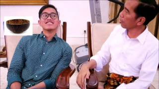 Video Video Kaesang Di Omeli  Pak Jokowi Dangdutan MP3, 3GP, MP4, WEBM, AVI, FLV November 2017