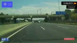 Martorell Spain  city images : Driving through Barcelona (Spain) from Martorell to Cerdanyola 12.06.2015 Timelapse x4