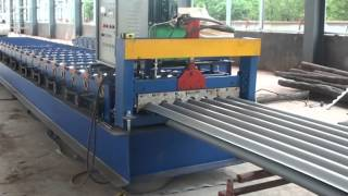 Botou China  city photos gallery : hebei botou 780 big wave corrugated sheet roll forming machine China factory