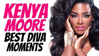 A compilation of Kenya Moore and her shady diva moments. Special Thanks To: BravoTV: https://www.youtube.com/user/BravoShows NBC: https://www.youtube.com/use...