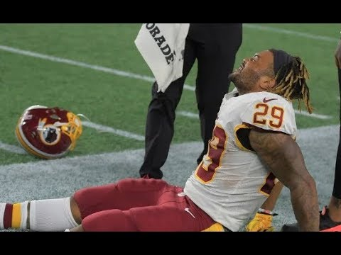 Derrius Guice out for season with torn ACL, Chris Thompson in, August 10, 2018