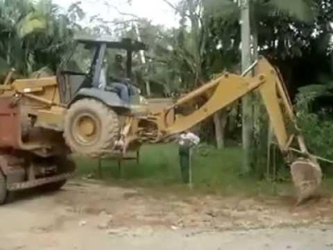 Conductor de excavadora nivel pro