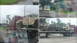 Livingston (TX) United States  city pictures gallery : Today More Military Equipment Spotted at Livingston Walmart in Livingston TX