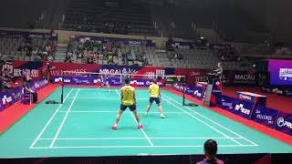 Download Video Macau Open 2017 | Badminton SF XD  Chan/Cheah vs Zheng/HuangHighlight Excellent angle 60FPS 1080P MP3 3GP MP4