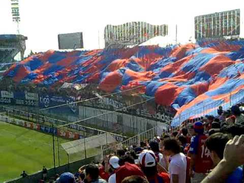 Recibimiento a Cerro Porteño - Clasico 22-08-2010 - Ciclón 2 vs Olimpia 2.mp4 - La Plaza y Comando - Cerro Porteño