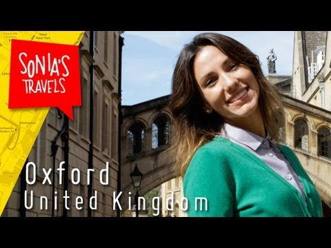 oxford - Sonia Gil travels to the oldest University in the United Kingdom, Oxford. Known for its Harry Potter influence, New College and Christ Church College were so...