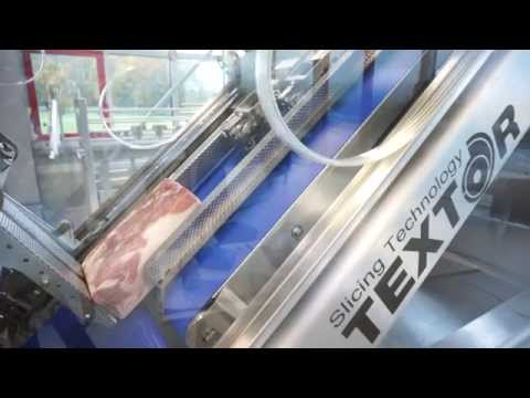 Rohschinken - The TS700 high speed involute blade slicer can be equipped with a powerful interleaver for interleaving cured ham with up to 1000 rpm/min. Some facts: - very...