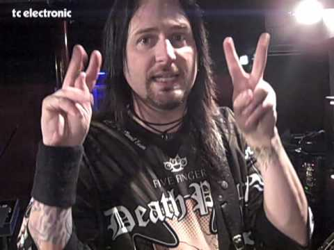 Five Finger Death Punch and TC Electronic G-Major 2