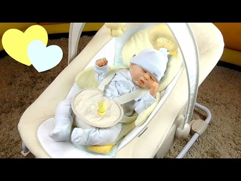 Sdraietta Ingenuity Pulcino RECENSIONE || Reborn Baby Giulia