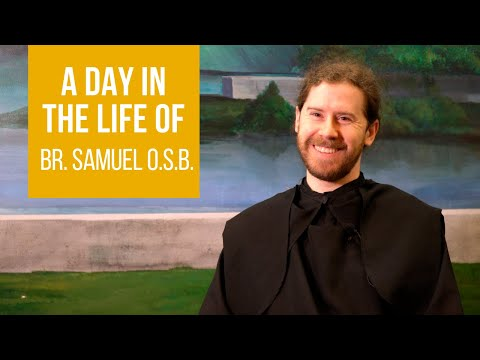 Benedictine Monks of St. Anselm's Abbey: A Day in the Life