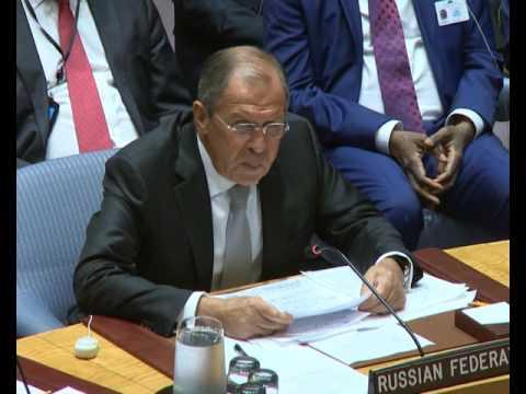 Выступление С.В.Лаврова на заседании СБ ООН по Ближнему Востоку (видео)