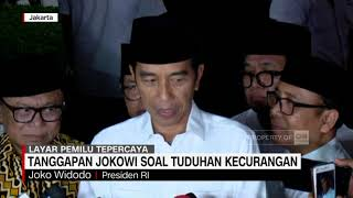 Video Tanggapan Jokowi Soal Tuduhan Kecurangan MP3, 3GP, MP4, WEBM, AVI, FLV Mei 2019