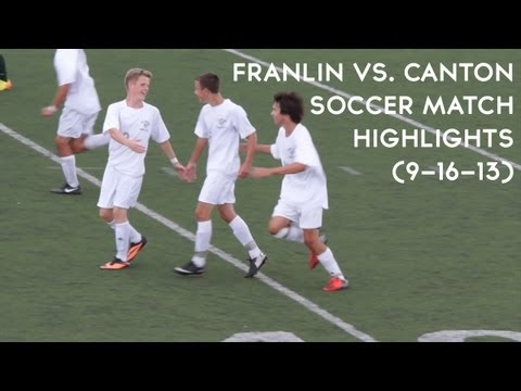 Franklin vs Canton Soccer Highlights (9/16/13)