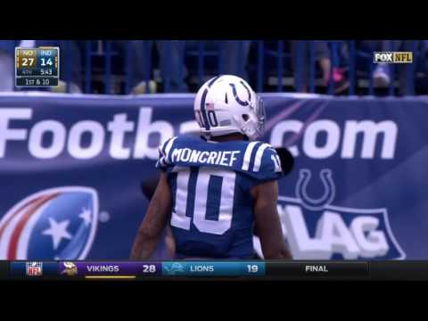 Every Donte Moncrief target 2015 reception Highlights
