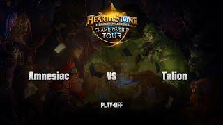 Amnesiac vs Talion, game 1