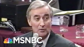 Rachel Maddow tells the story of Walt Nixon, a federal judge who ended up in heaps of legal trouble and impeached from his...