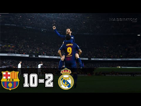 Barcelona vs Real Madrid 10-2 - All Goals and Highlights RÉSUMÉN Y GOLES ( Last Matches ) HD