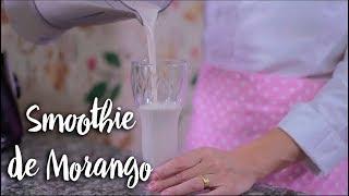 Experimente - Smoothie de Morango