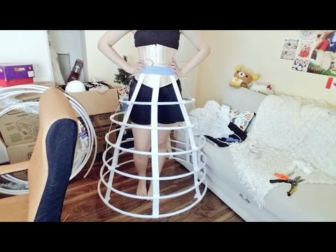Easy To Make Hoop Skirt!