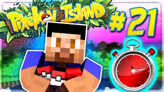 10 MINUTE TEAM CHALLENGE - PIXELMON ISLAND SMP #21 (Pokemon Go Minecraft Mod)