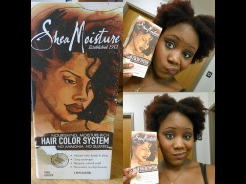 {Review & Tutorial} NEW Shea Moisture Hair Color System