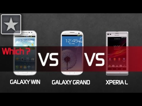★Grand Quattro vs Xperia L vs Grand | Buying Guide
