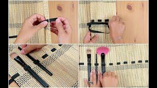 Un'idea semplice e originale per realizzare un comodo porta oggetti per i tuo viaggi. Ti servirà solo una tovaglietta per sushi e un elastico, ecco come fare!http://youmedia.fanpage.it/video/aj/WXG8P-SwXJAxIRMj