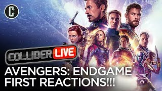 First Reactions for Avengers: Endgame - Collider Live #119 by Collider