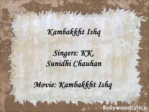 Kambakkht Ishq | English Translation| Lyrics