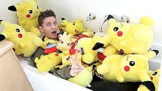 Taking A Bath In Pikachus!! by Unlisted Leaf
