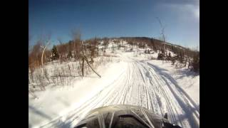7. Off Trail with the Arctic Cat F5!